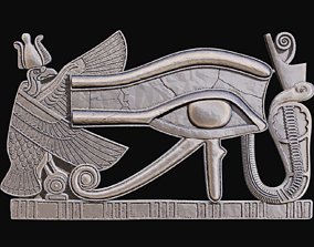 Eye of Ra or horus for CNC Router and 3D print model
