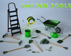 3D model Garden Tools Collection