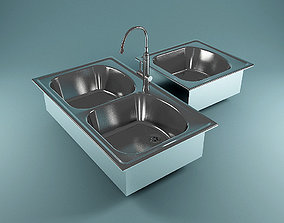 Steel Wash stand 3D