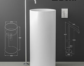 wash sink Boffi PHC and Eclipse 3D model