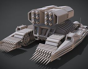 3D print model Nightmare Tank