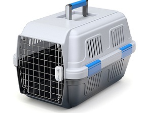 Pet carrier for traveling 3D model