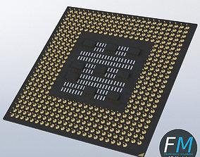 3D PBR CPU chip