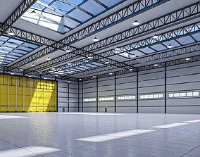 Hangar-Warehouse 3D