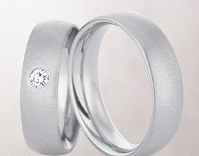 3D print model Wedding rings 189