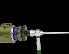 Endoscope 3D asset