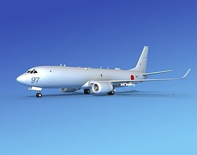 Boeing P-8 Poseidon Japanese Air Force 3D