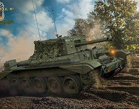 3D model Mk VIII Cromwell IV