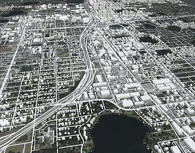 3D model Cityscape Orlando Florida USA