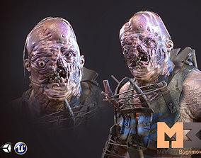 3D asset Mutant 01
