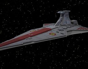 Star Wars - Venator Cruiser 3D model