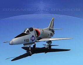 3D Douglas A-4D Skyhawk V20 USN