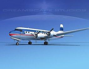 3D Douglas DC-6 Douglas