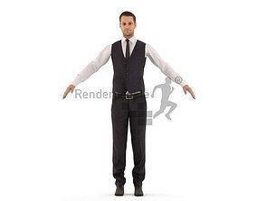 3D model Eric 001 Man standing