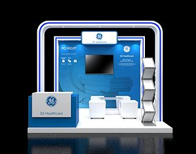 3D Booth 3x3 booth