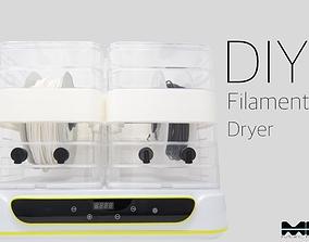 DIY Filament Dryer 3D printable model