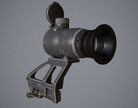 3D asset game-ready 1P78 Kashtan scope