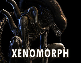 Alien Xenomorph Big Chap for 3D Printing facehugger