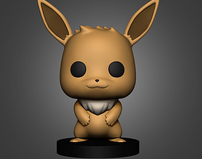 pikachu Eevee Pokemon 3D Print