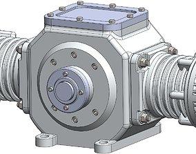 Hypocycloid air compressor 3D