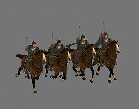 3D cavalry