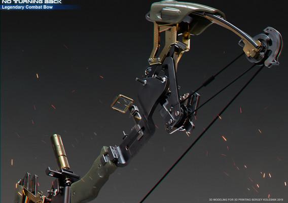 No Turning Back - Legendary Combat Bow