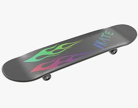 Skateboard scooter 3D