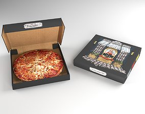 Pizza Package 3D asset