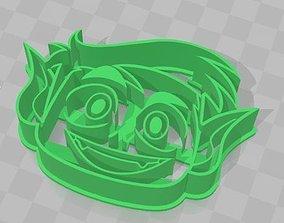 BeastBoy from Teen Titans GoCookie 3D printable model 2