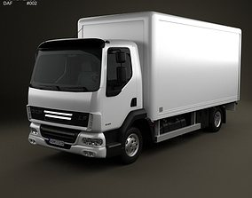 3D DAF LF Delivery Truck 2011