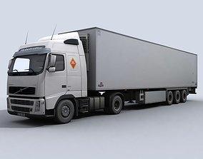 Refrigerated Transport Truck 3D asset