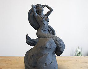 3D print model Mermaid STL