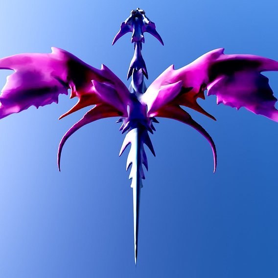 Fairy Dragon Render