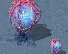 3D Cartoon version - banshee fetus demon tree
