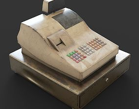 Cash register 3D asset