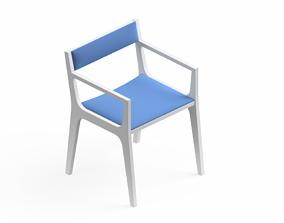 Armchair Modern Collection 50x 3D model