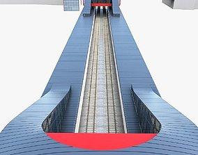 Train Station 02 3D asset