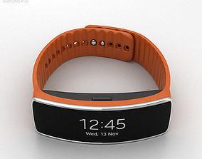 Samsung Gear Fit Orange 3D
