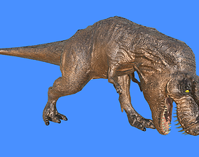 animated Rex 3D Model