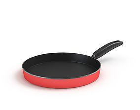 stove Frying Pan 3D
