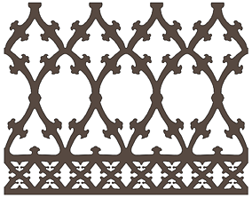 M1 - Ornamental Panel 3D model