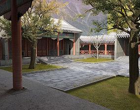 Chinense Quadrangle and Tree 3D