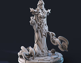3D printable model Sorceress STL 75 mm