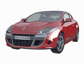 Renault Megane Coupe 2009 3D