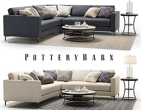 3D model Pottery Barn Jake set 1