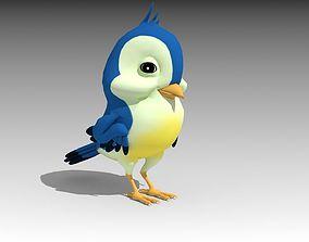 Bird Toon 3D model