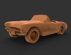 3D printable model Chevrolet Corvette C1 1953