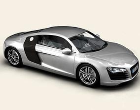 automobile 3D Audi R8