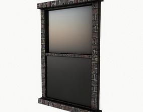 Window Model 3D asset