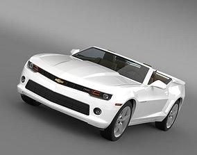 Chevrolet Camaro RS Convertible 2010 3D model